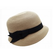 Small brim hat - Cloche - natural